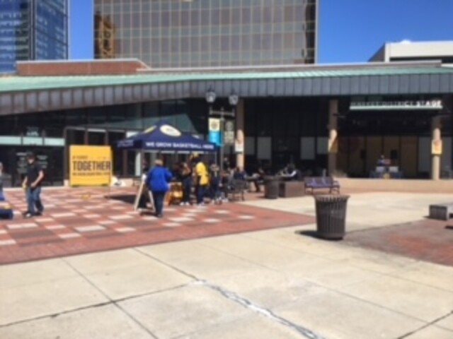 PHOTOS: Pacers pride on display for Game 3 of the NBA playoffs against the Cleveland Cavaliers