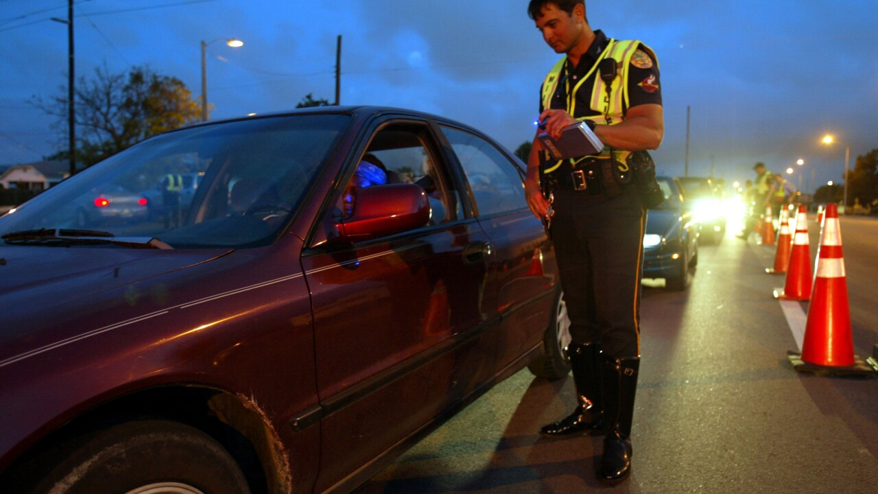 Virginia Beach ranks 10 in recent study on cities with most drunk drivers