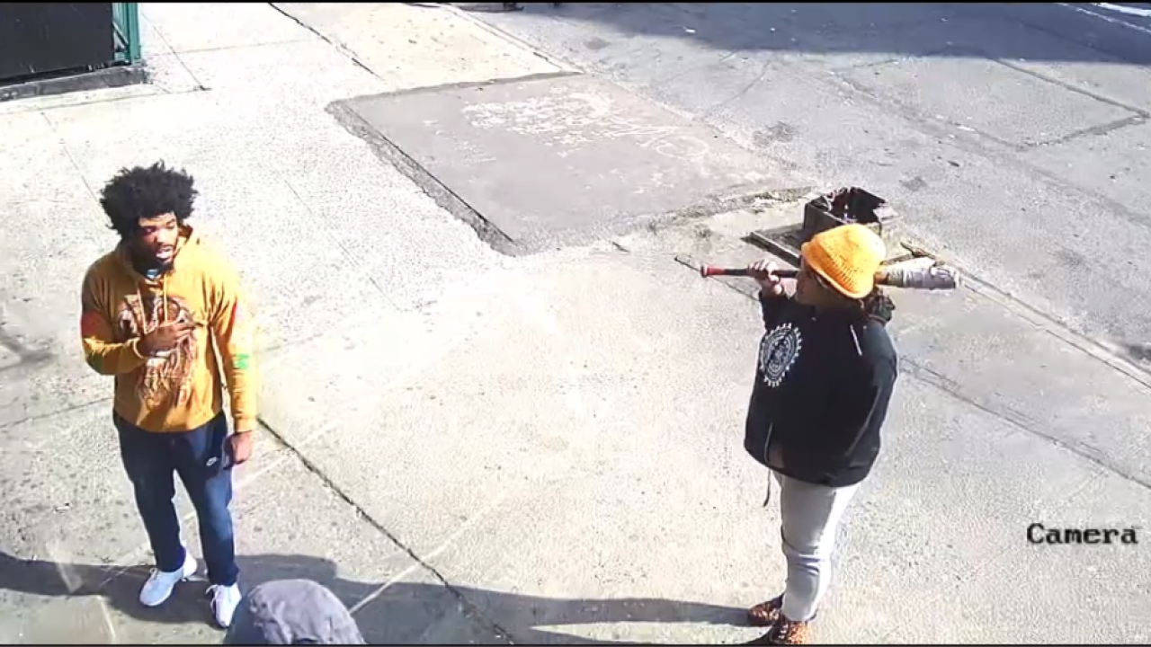 Man, woman attack person in the Bronx