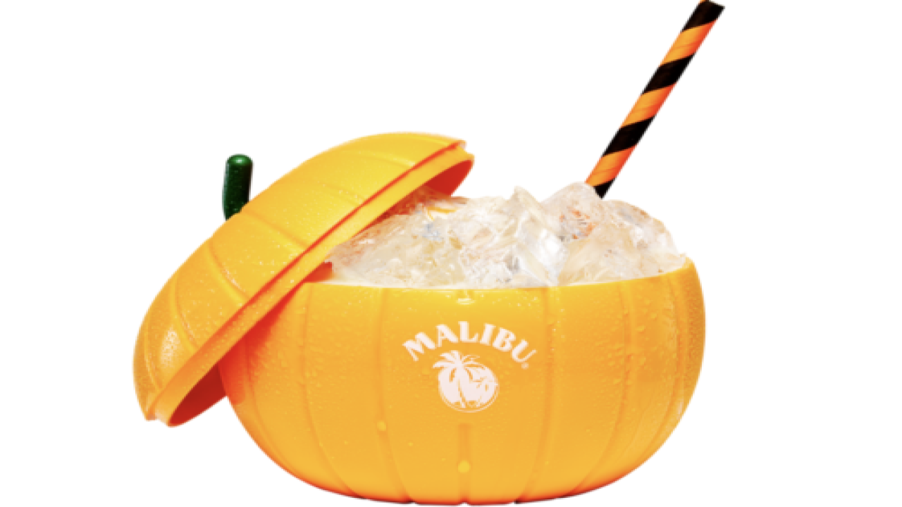 This Malibu Pumpkin Colada Is Perfect For Halloween