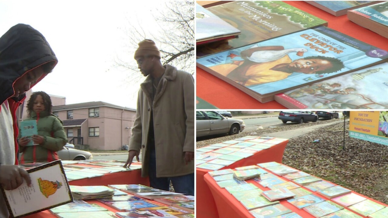 Why group is giving free books to kids in this Richmond neighborhood