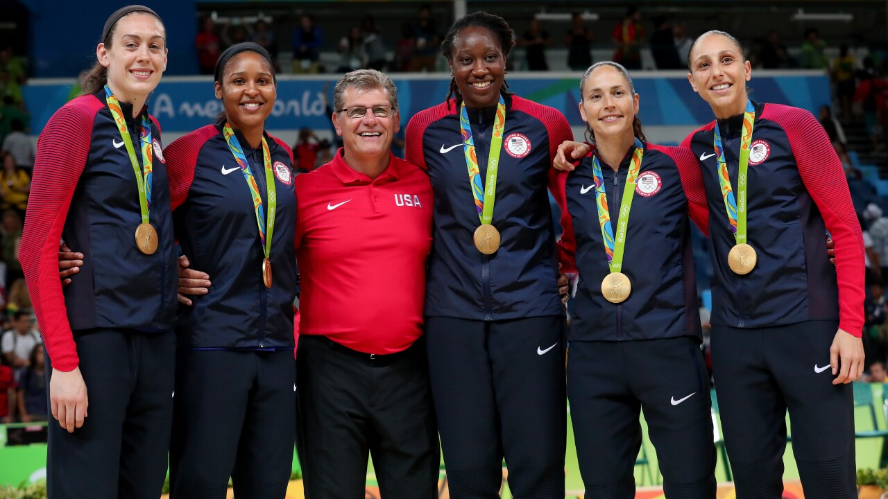 USA  Women's Basketball claims sixth gold medal with rout of Spain