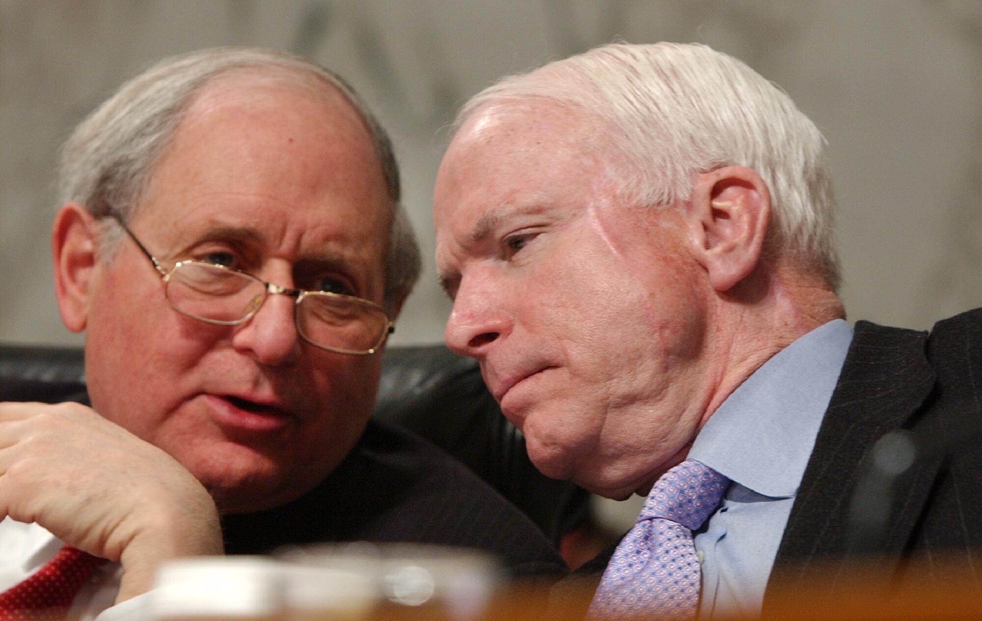 Carl Levin, John, McCain