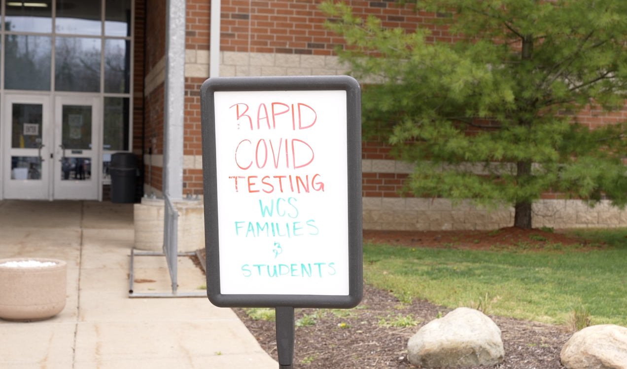 """""""RAPID COVID TESTING WCS FAMILIES & STUDENTS"""""""