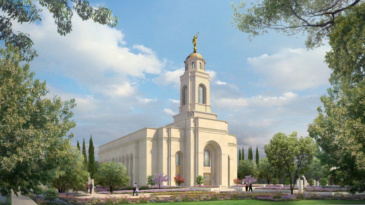 Latter-day Saint church releases rendering of 'Feather River California' temple