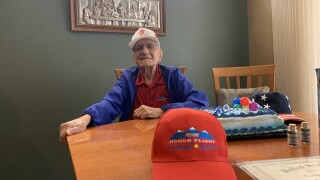 Community helps celebrate local World War II veteran's 96 birthday