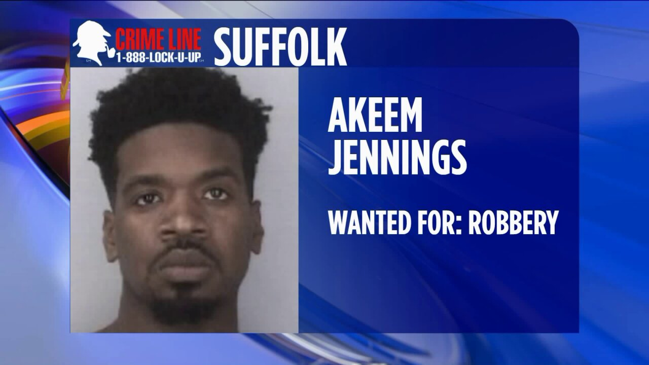 Suffolk Police need help tracking down robberysuspect