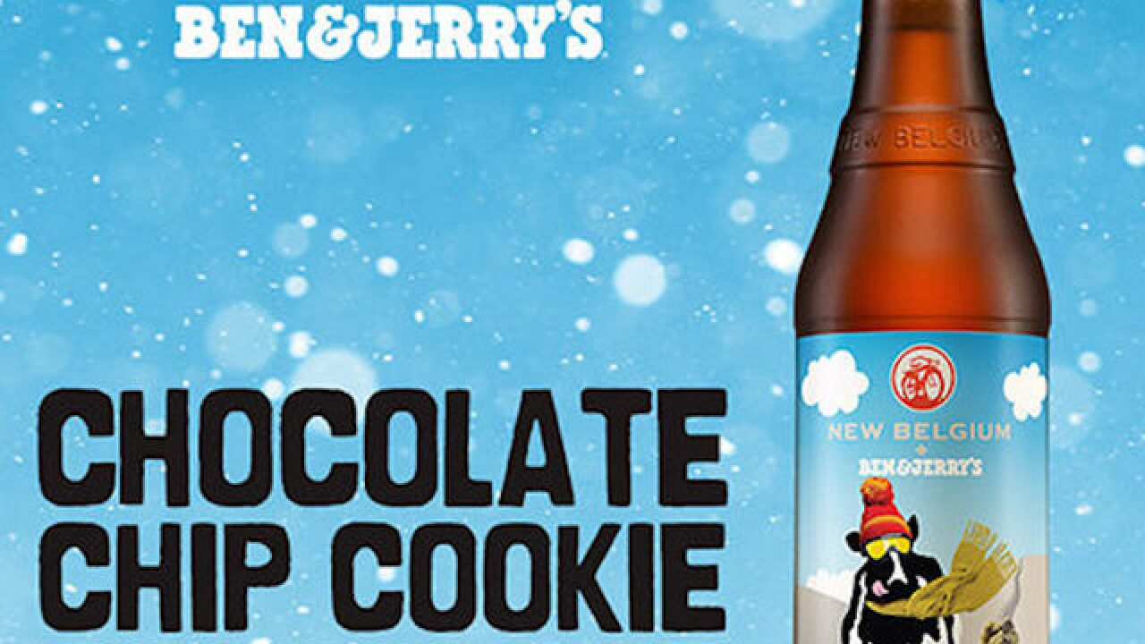 Cookie dough ice cream beer? Dreams do come true
