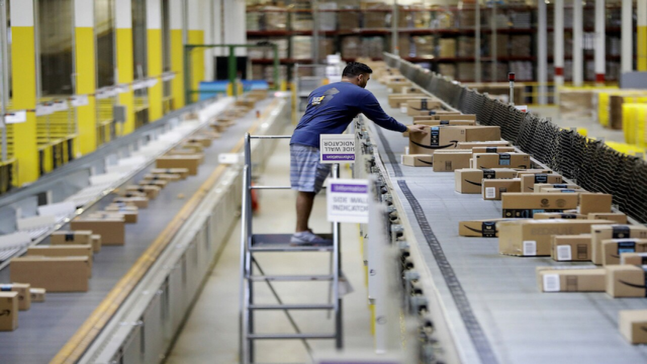 Amazon holds job fair in Baltimore