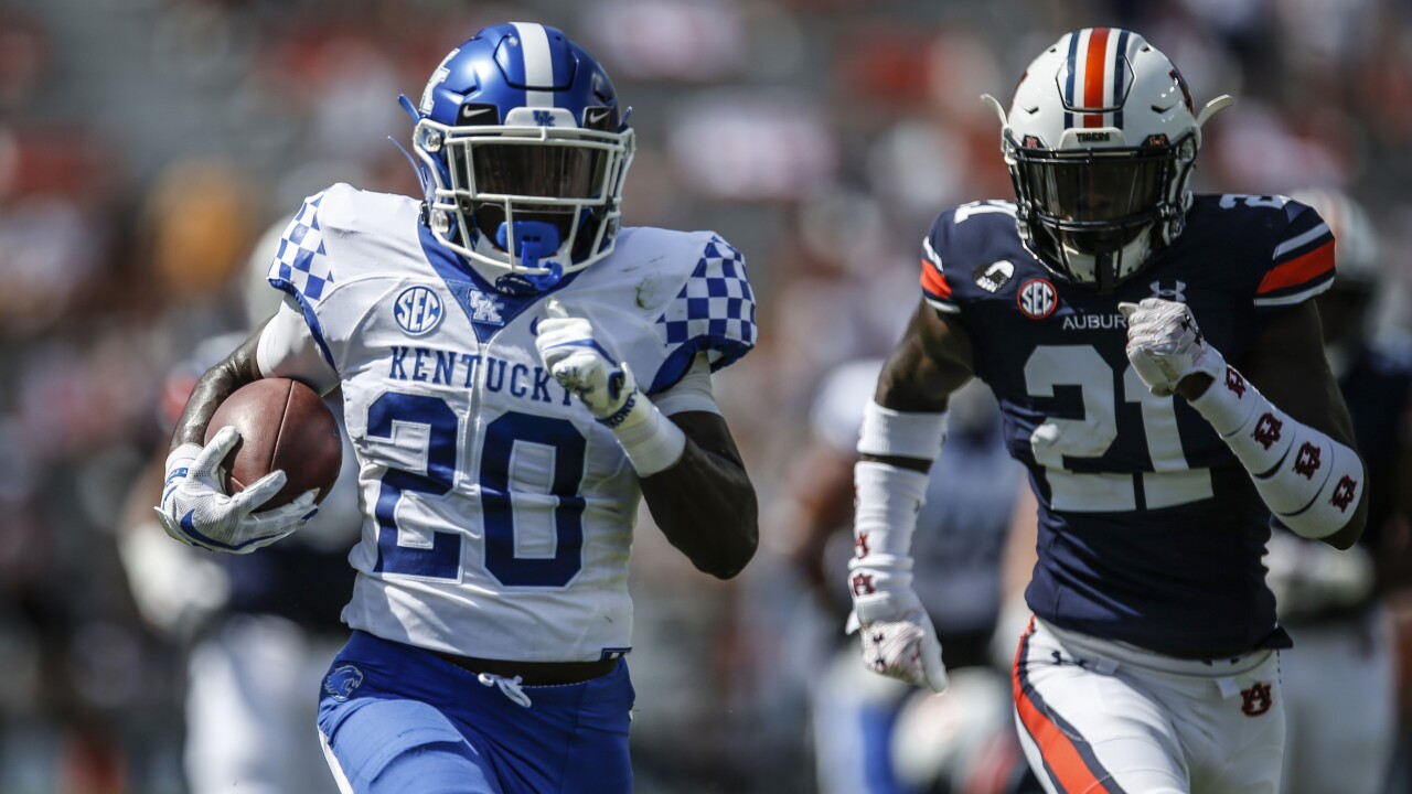 Kentucky Auburn Football