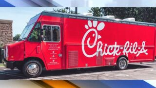 Strongsville Chick-fil-A food truck