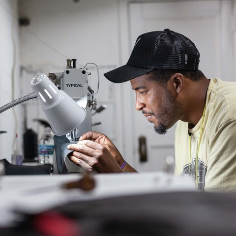 GALLERY: Local business first to manufacture sneakers in Detroit