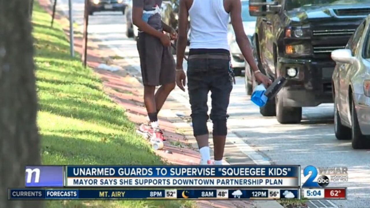 """Guards to monitor """"squeegee kids"""" next week"""