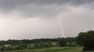 Lightning strike video fromAda