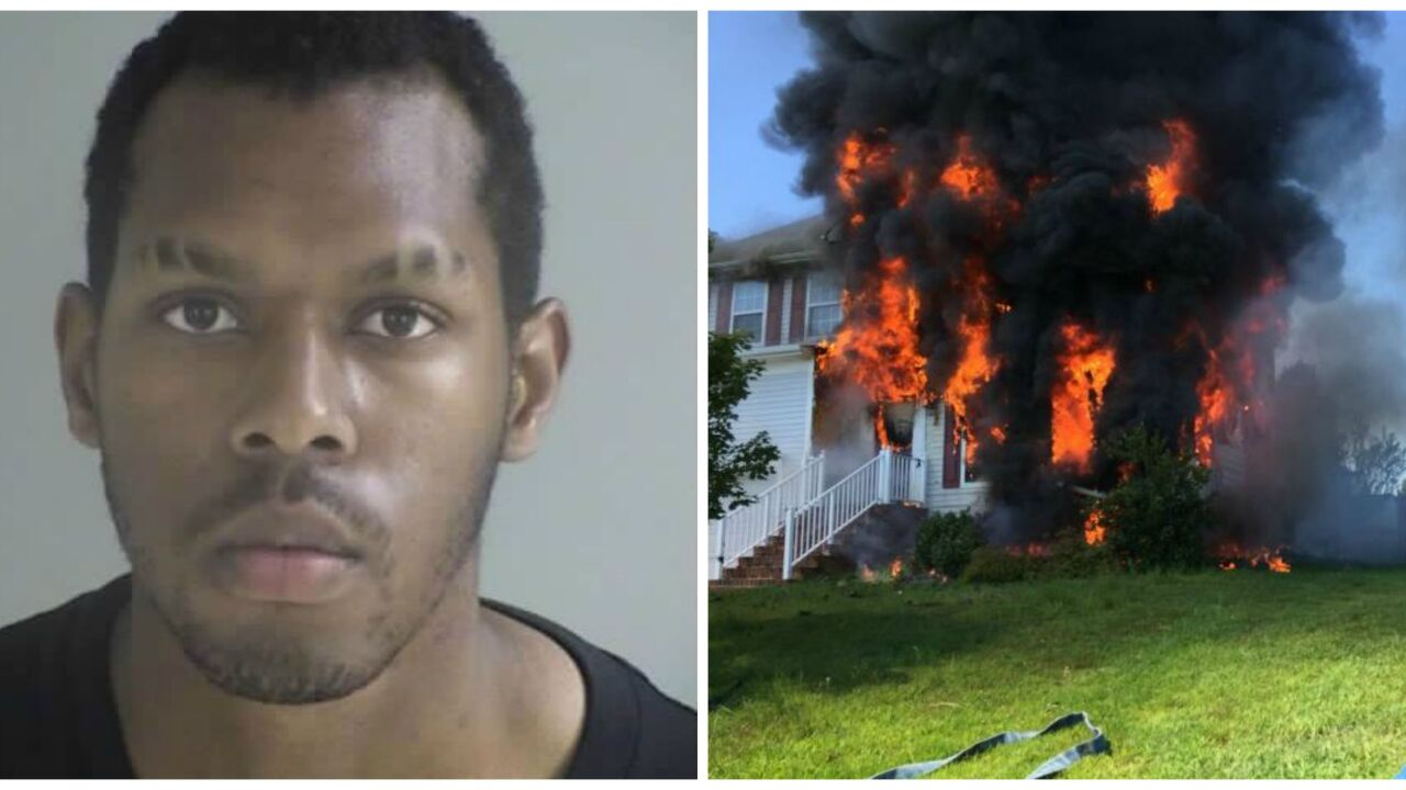 Teen accused of setting parents' house ablaze found dead in jail