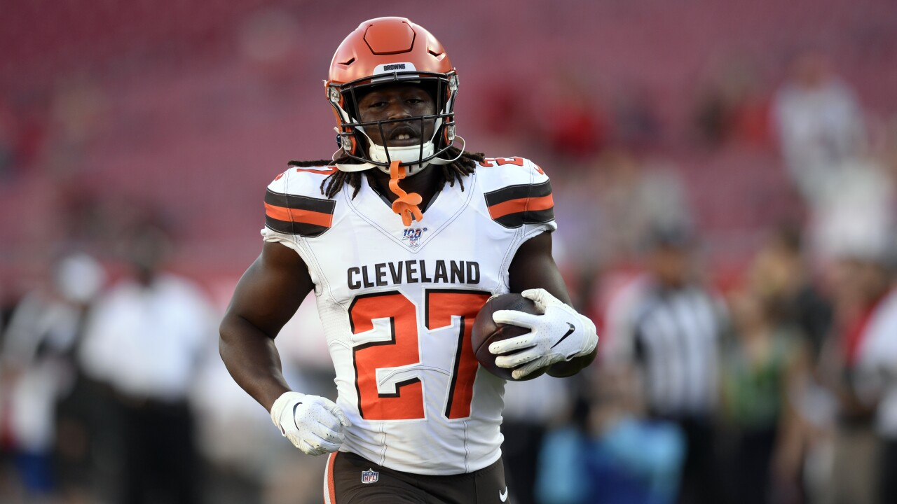 Image result for kareem hunt browns