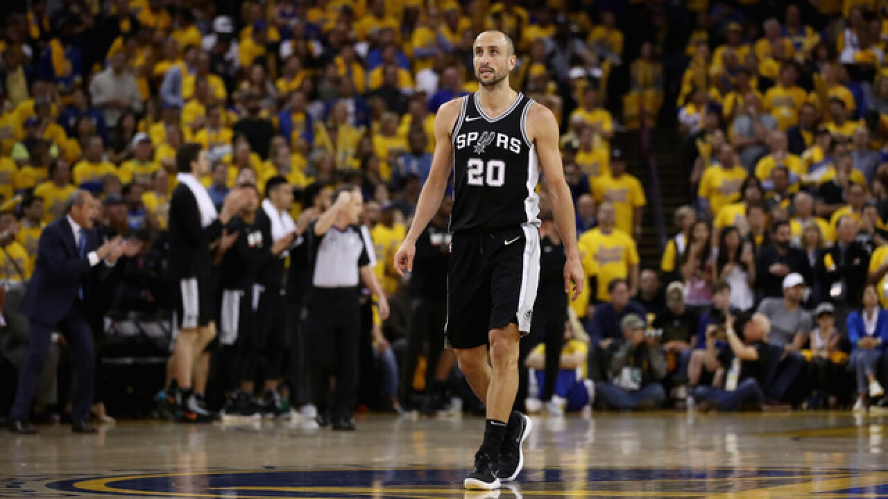 Manu Ginobili, a 4-time champion with Spurs, retires at 41