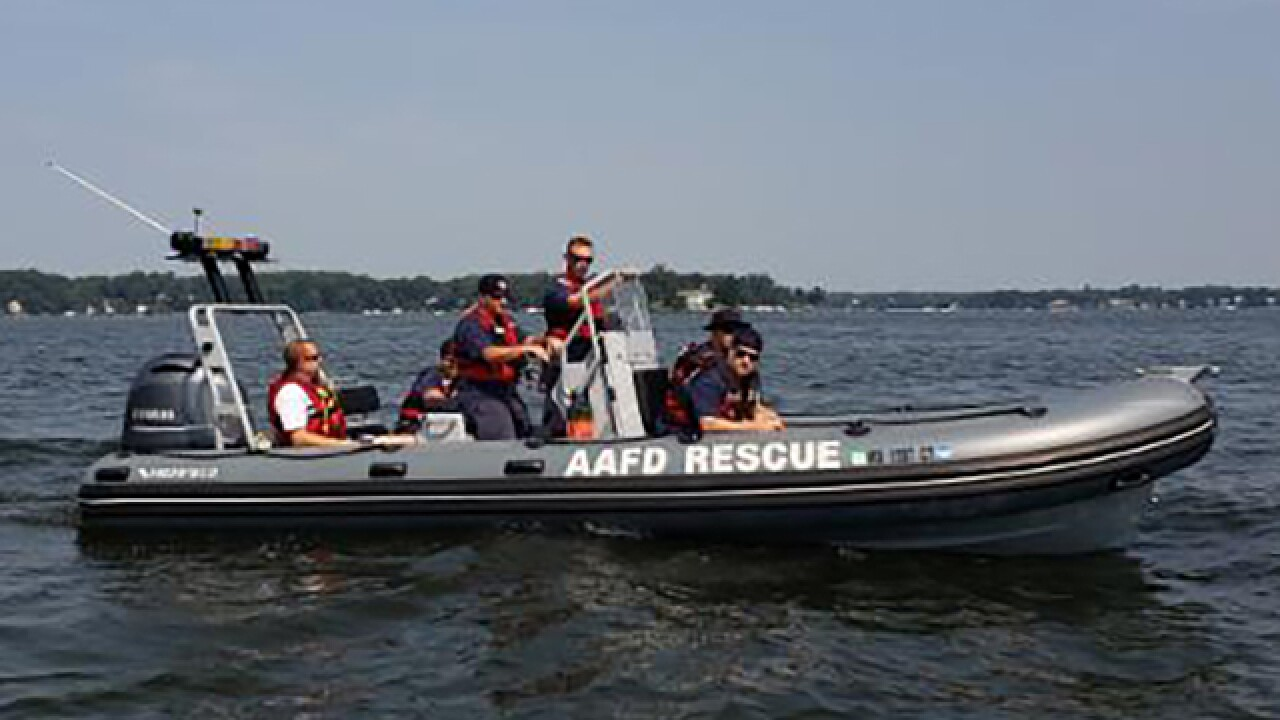 AACo Fire Dept. utilizes new 23-foot boat