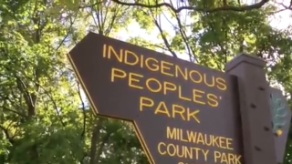 Columbus Park in Milwaukee has been renamed Indigenous Peoples' Park