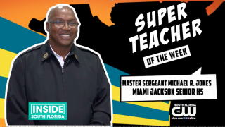 Super Teachers: Master Sergeant Michael R. Jones