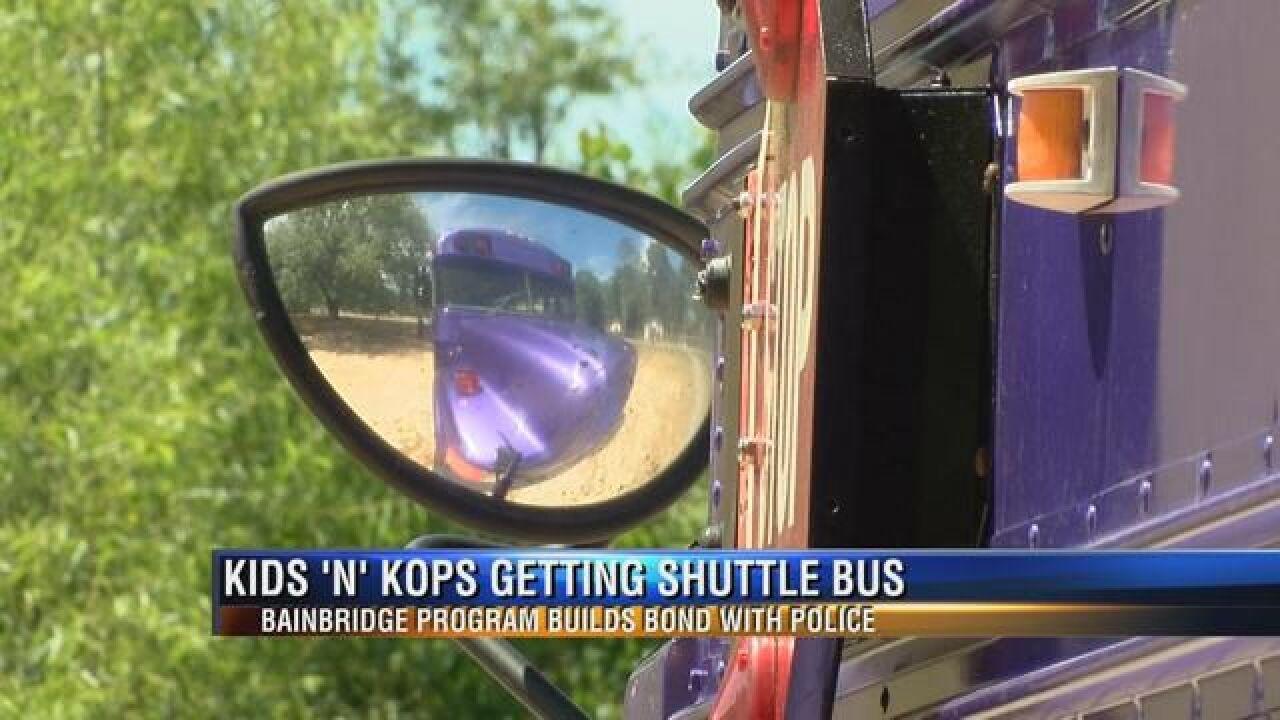 """Kids N Kops"" in Program in Bainbridge to Start Up Shuttle Program"