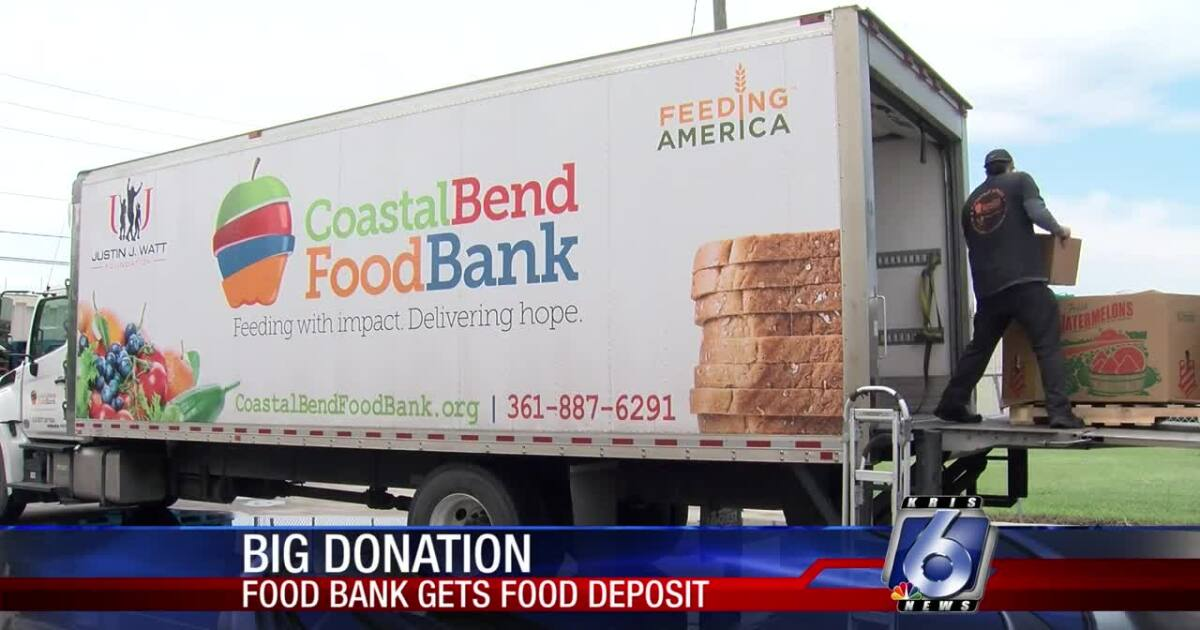 Food bank receives big food donation from CC State Supported Living Center