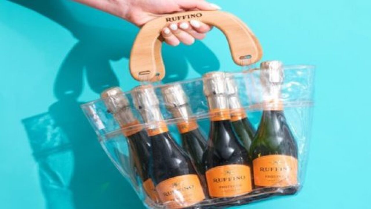 This Purse Can Hold A 6-Pack Of Prosecco