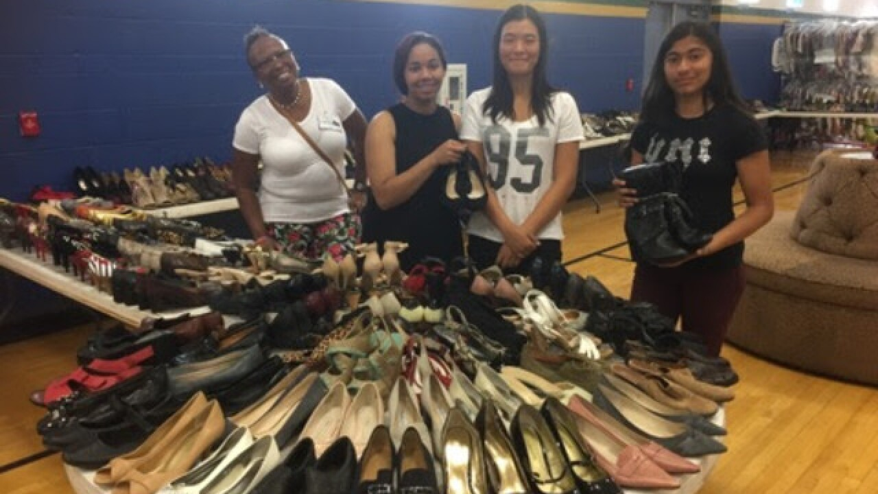 Dress for Success sale at Spring Valley HS