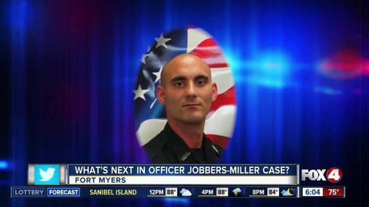 Officer Jobbers-Miller rests at funeral home
