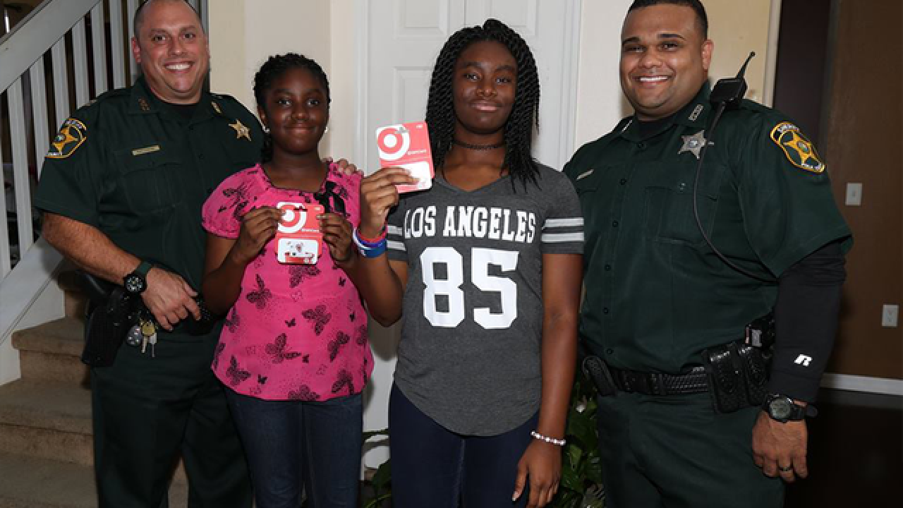 Woman sends gifts to kids hit by drunk driver