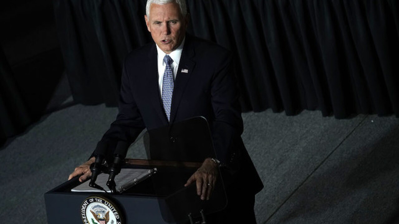 Vice president coming to Mansfield today