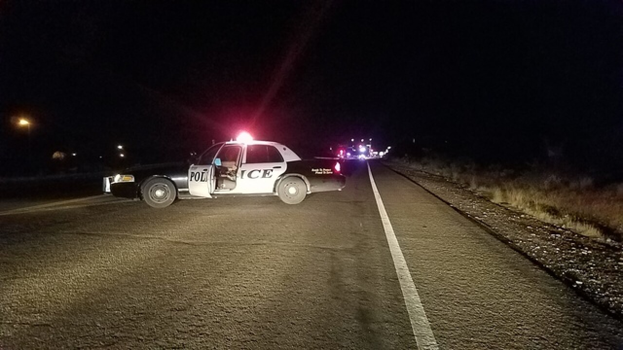 Man killed in crash at Greasewood and W. Anklam