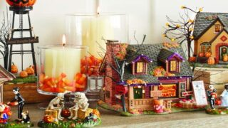 Amazon Is Selling Halloween Versions Of Classic 'Christmas Village' Houses