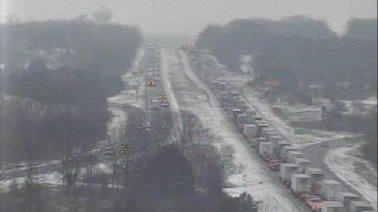 I-94 EB at M-52 in Chelsea has reopened