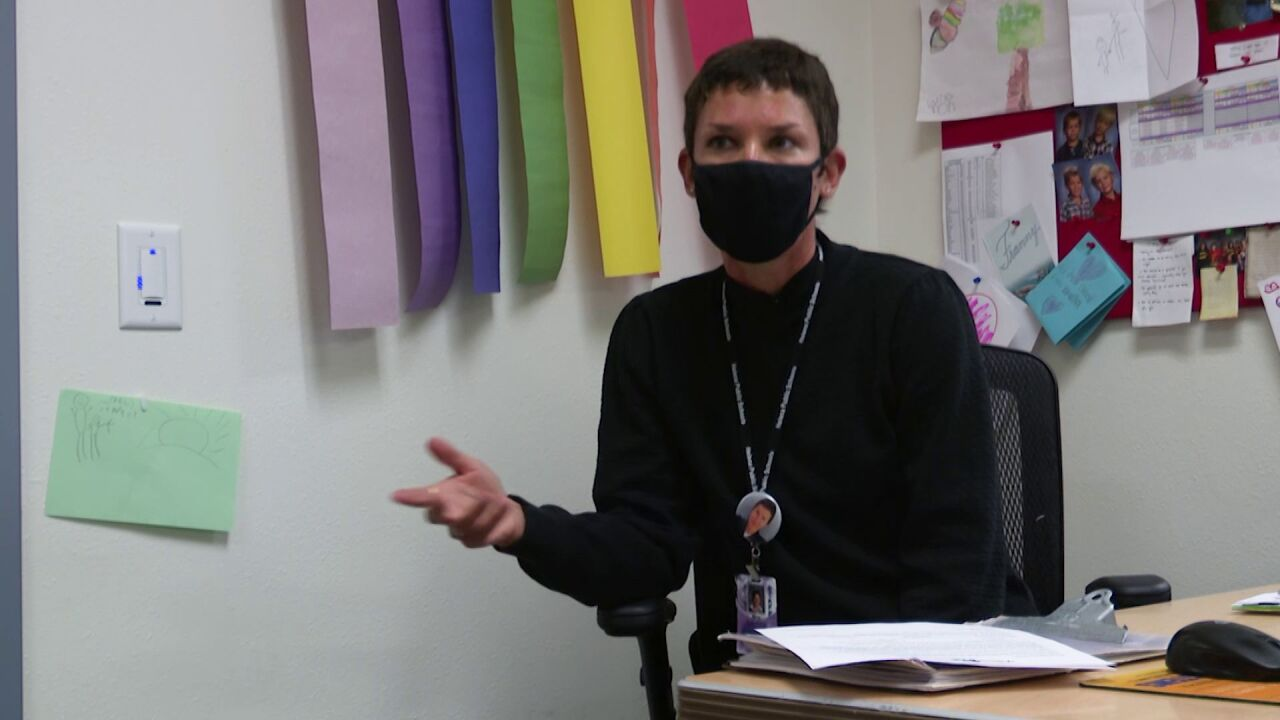 Francis Leonard, a Helena Public Schools nurse