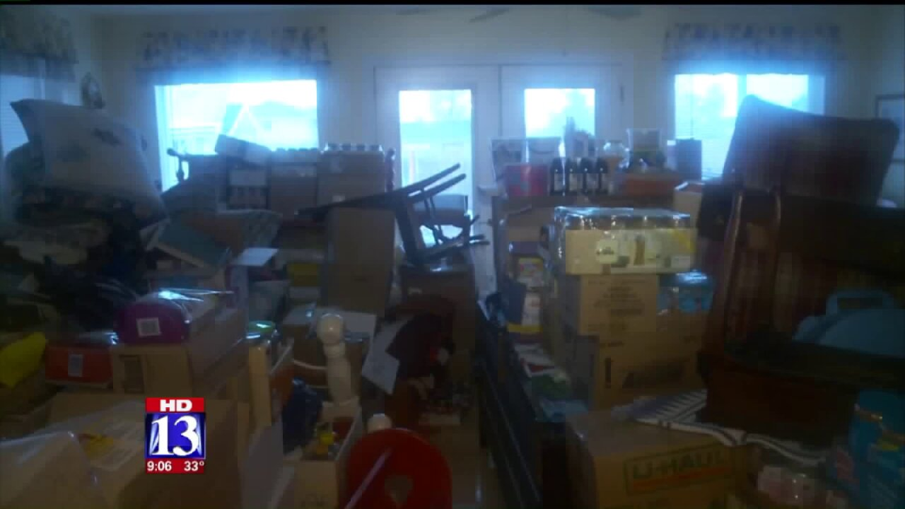 Box Elder County residents work to protect homes, belongings amid flooding