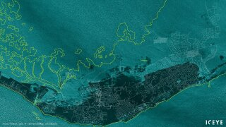 These satellite images show Grand Bahama before and after Dorian's wrath