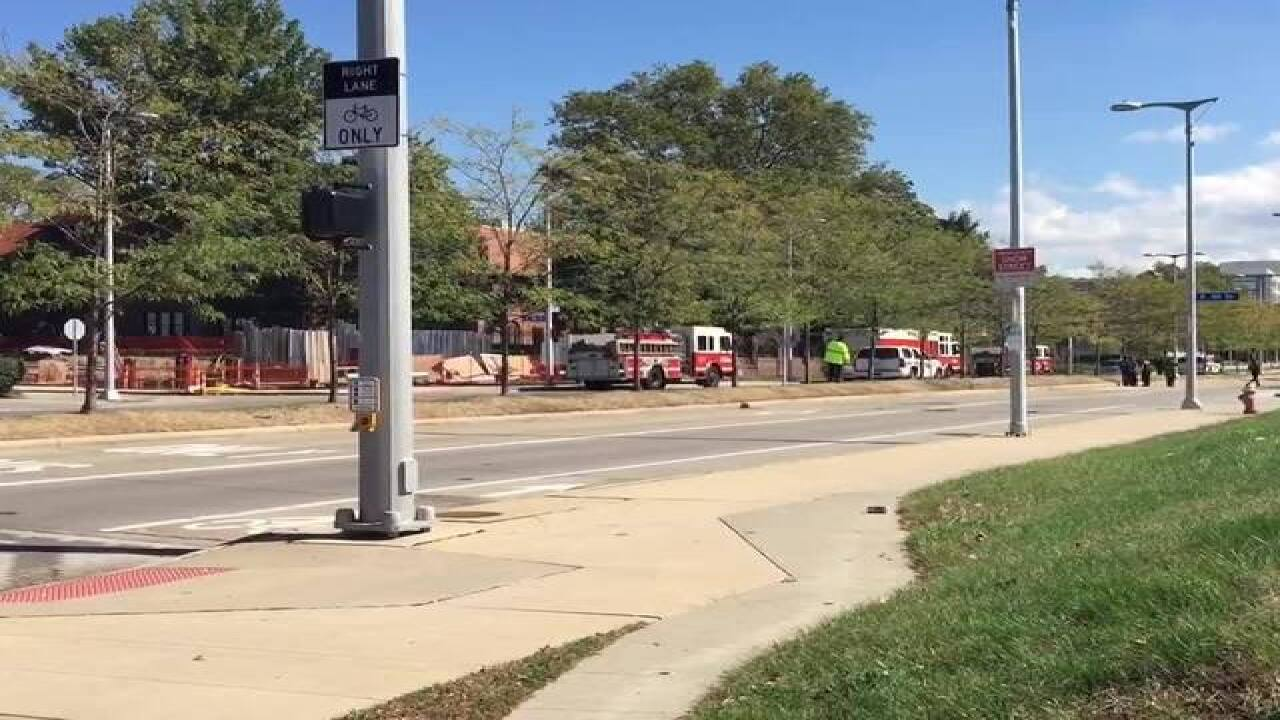 VIDEO: Gas leak forces evacuation of CLE Clinic