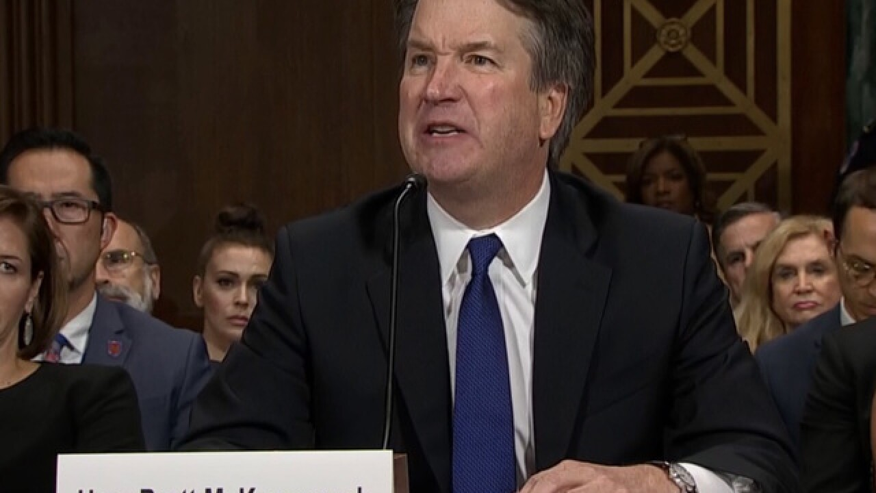 Angry Kavanaugh denies Ford claims: 'Disgrace'