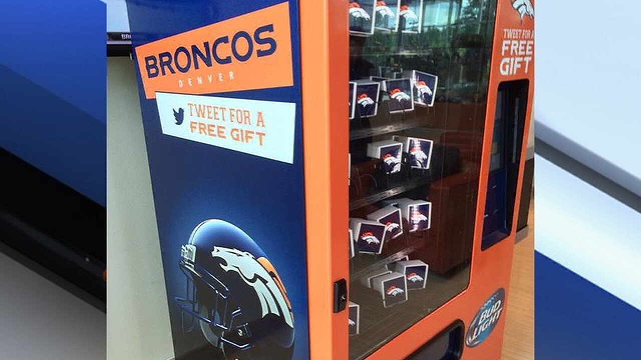 Broncos debut Bud Light Twitter vending machine 329b9508c