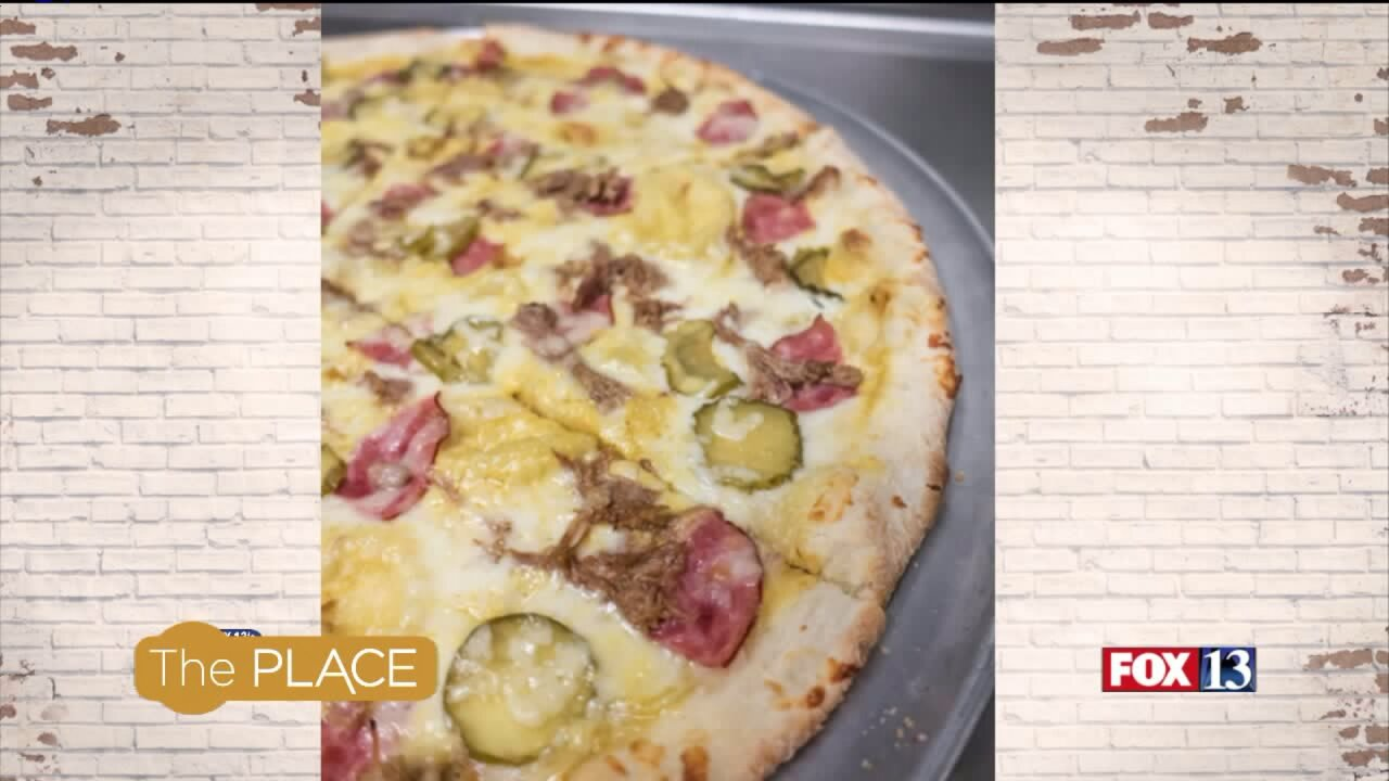 Recipe: Cuban Pizza
