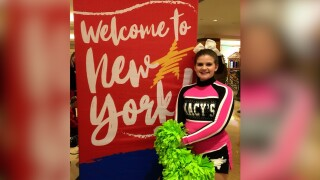 Manhattan cheerleader to represent Montana in return visit to Macy's Thanksgiving Day Parade