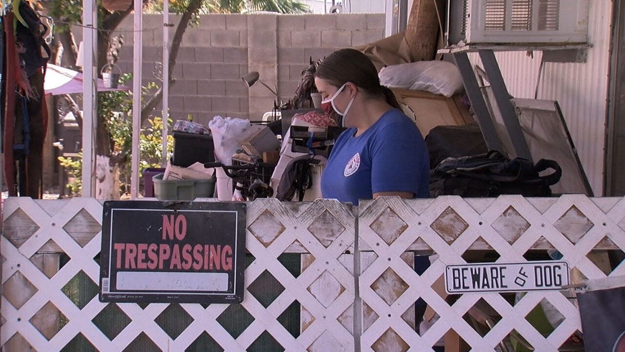 Evictions continue as Arizonans languish in unemployment system