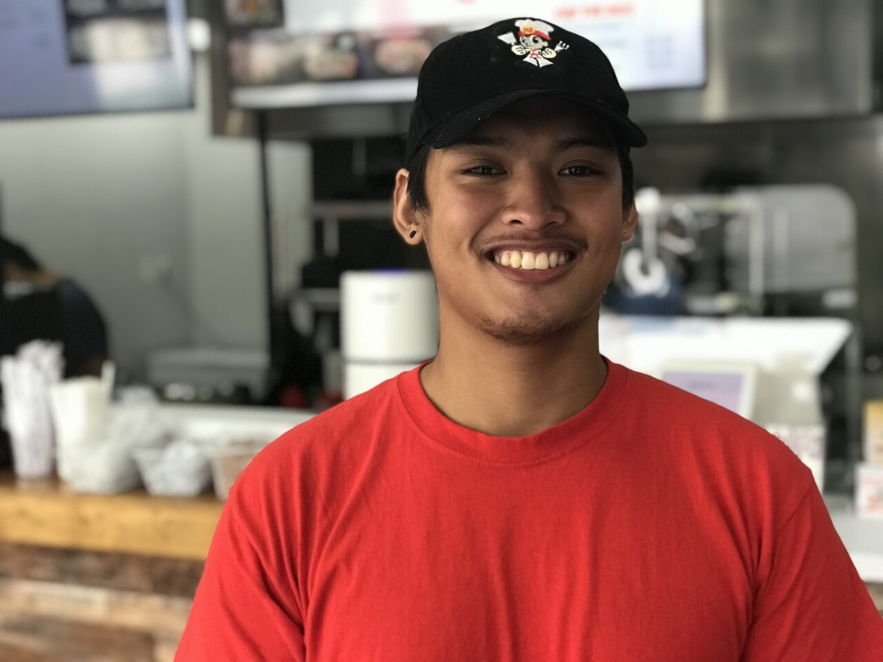 At just 19, Julius Sayavong already owns his own restaurant.