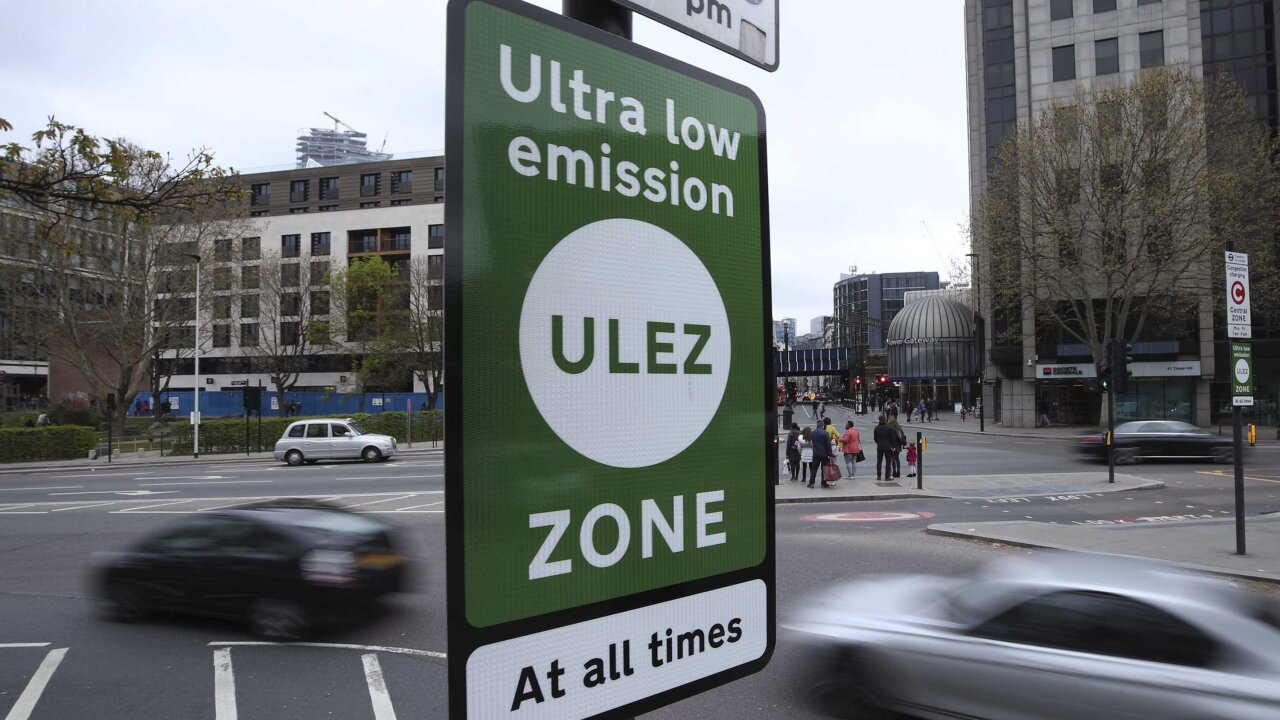 Ultra Low Emission Zone subjects drivers to fines if vehicles don't meet standards
