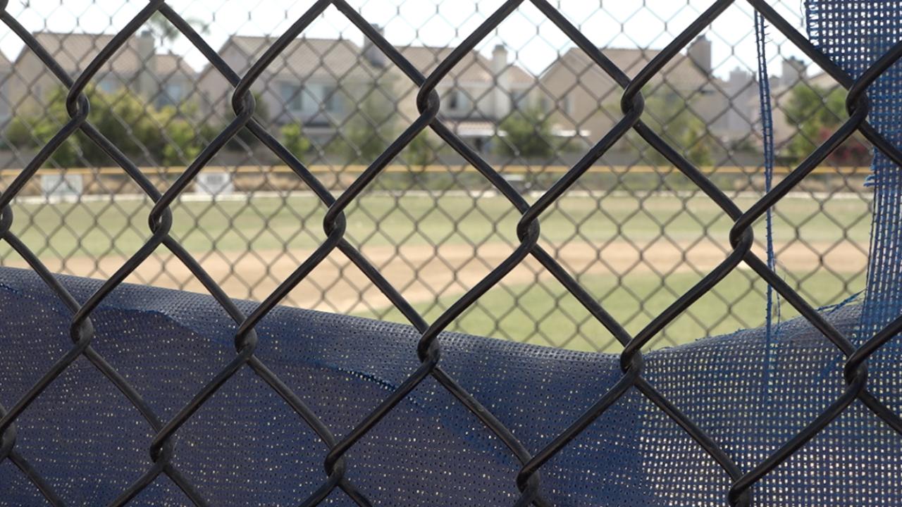 Vandal takes aim at little league dugout in Mira Mesa