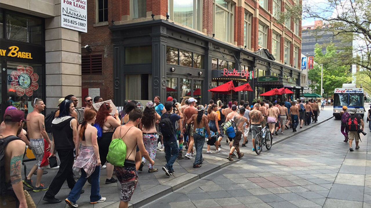 Go Topless Day in Denver will celebrate gender equality for fifth year in a row on Sunday