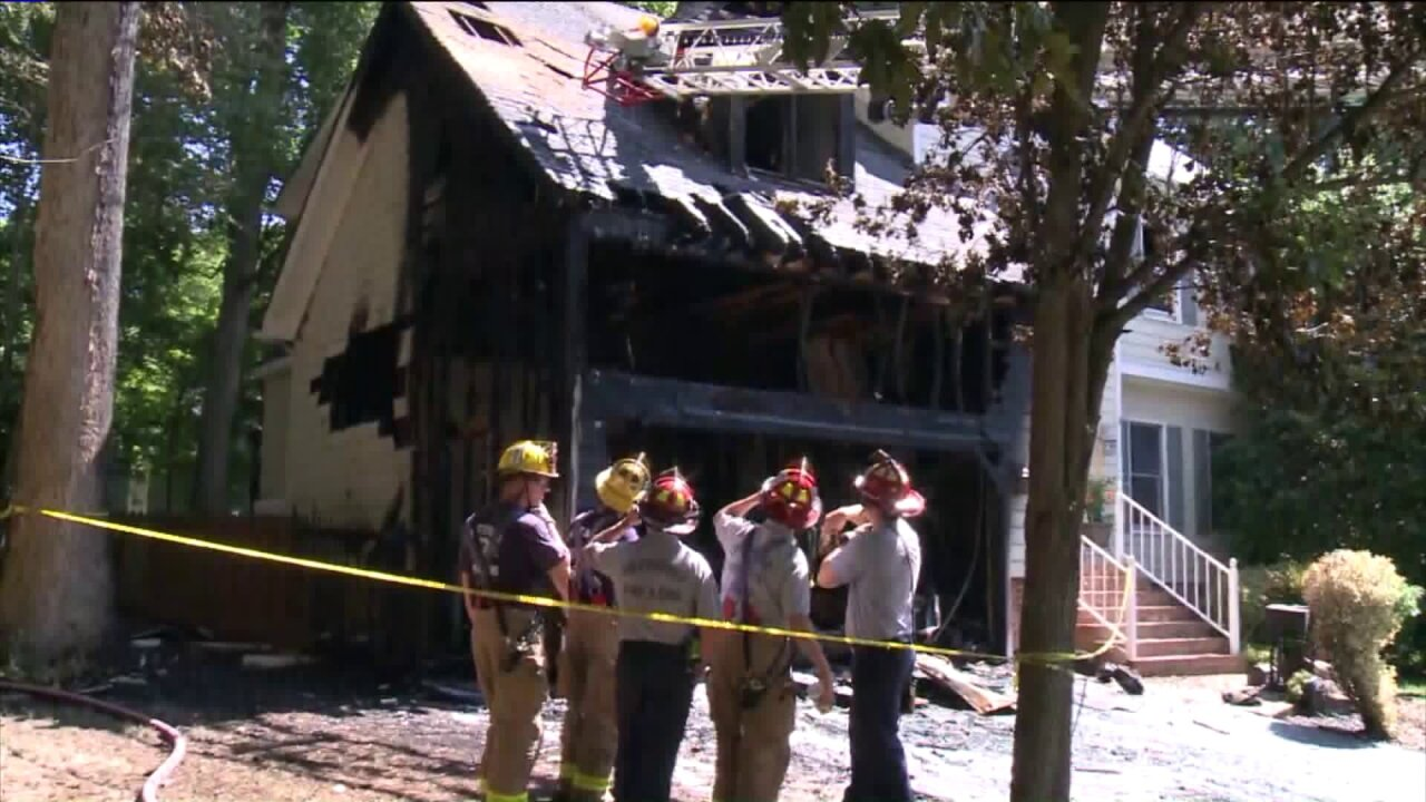Woodlake community rallies around Chesterfield family afterfire