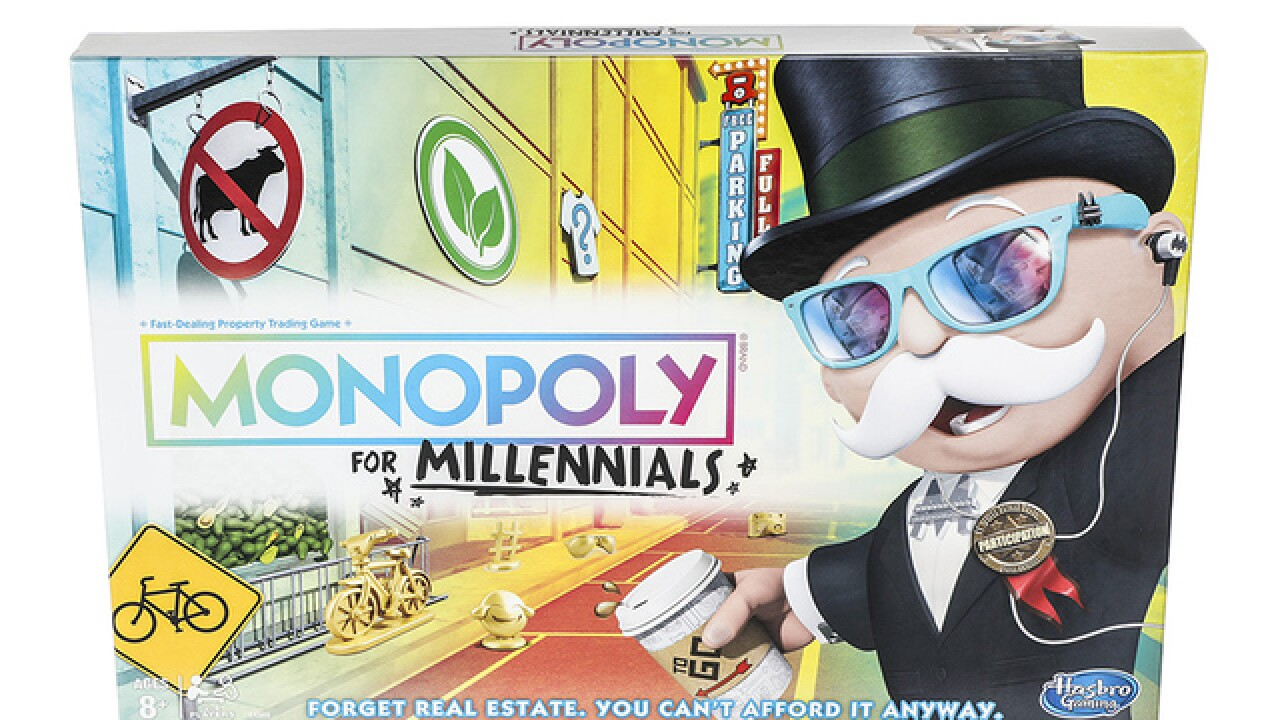 Hasbro releases Monopoly for Millennials game