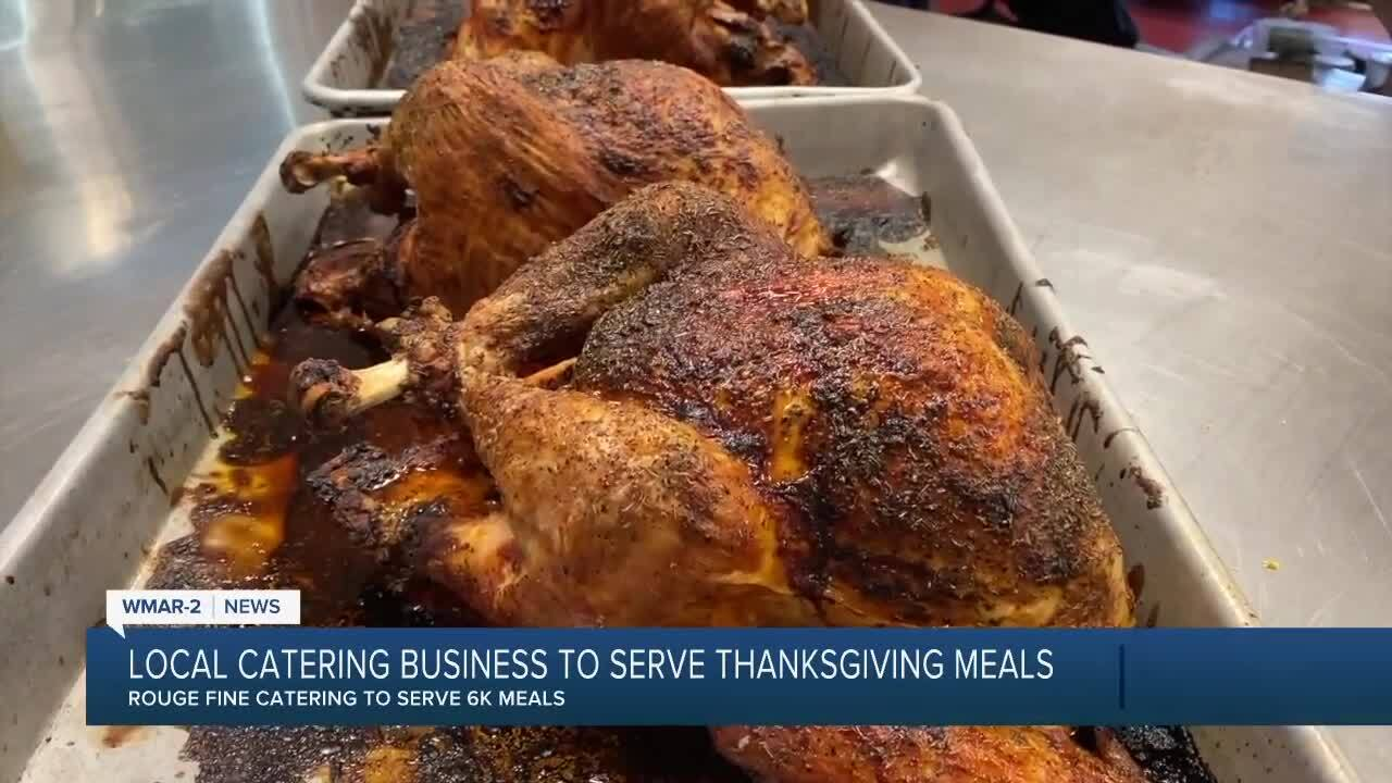 Rouge Fine Catering to serve 6k Thanksgiving meals to those in need